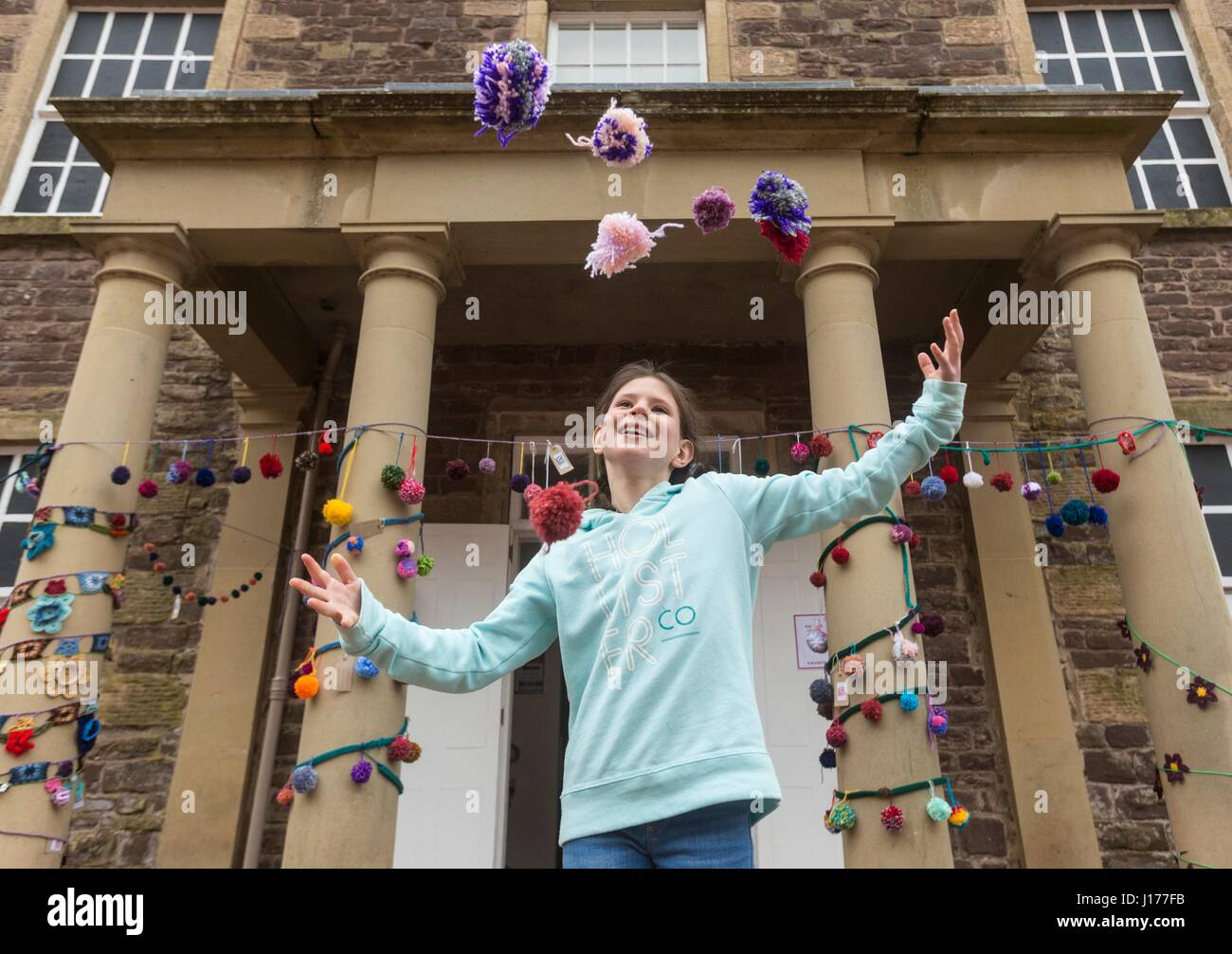 Lanarkshire, UK. 18th April, 2017.  during the Scotland-wide World Heritage Day festivities. Six unique events, - Stock Image