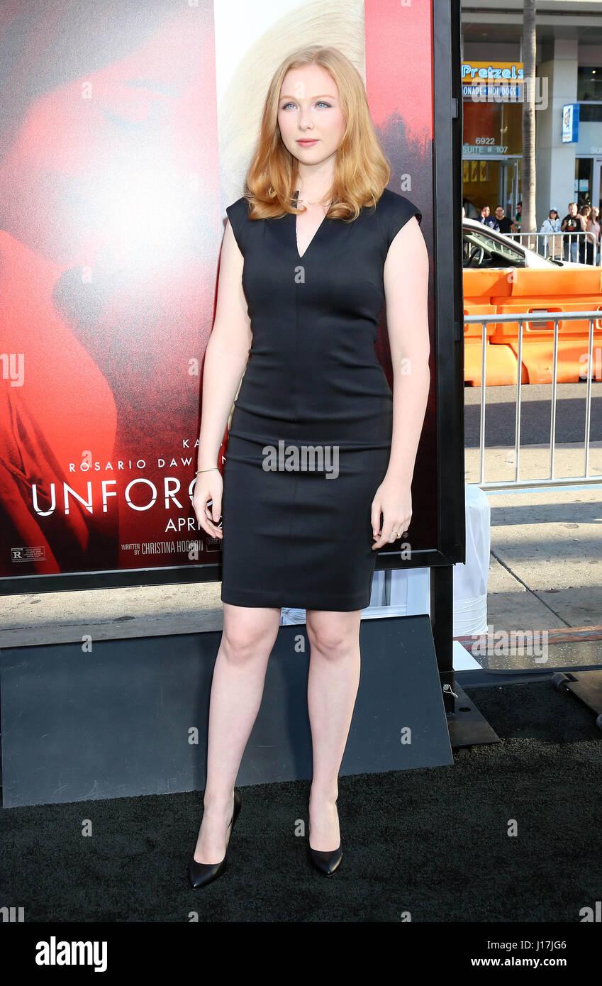 Molly quinn unforgettable premiere in la new foto