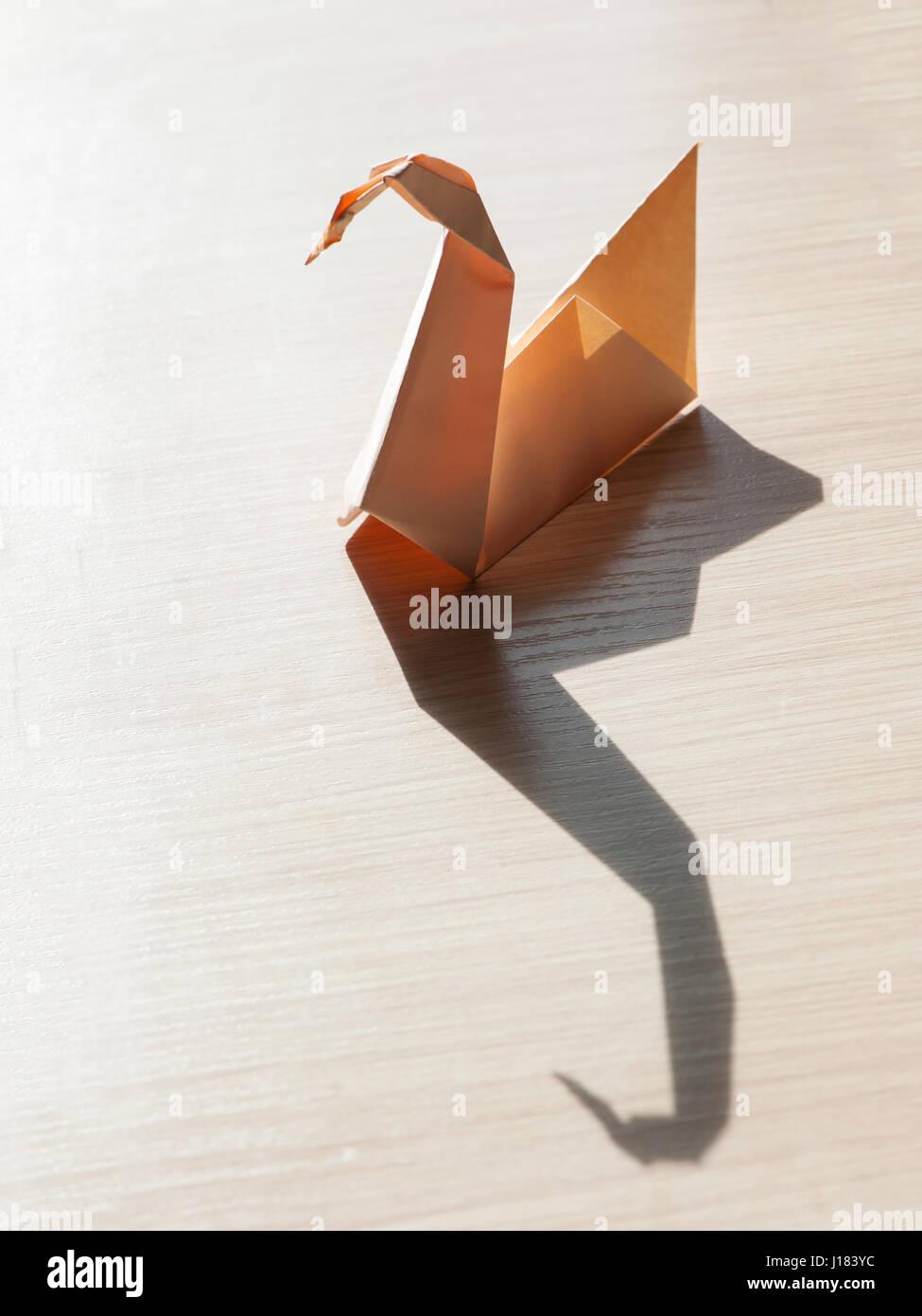 Origami Bird Stock Photos Origami Bird Stock Images Alamy