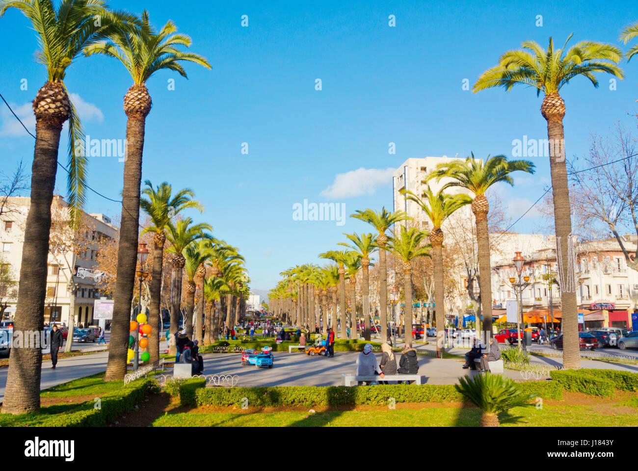 avenue hassan ii ville nouvelle fez morocco africa J1843Y