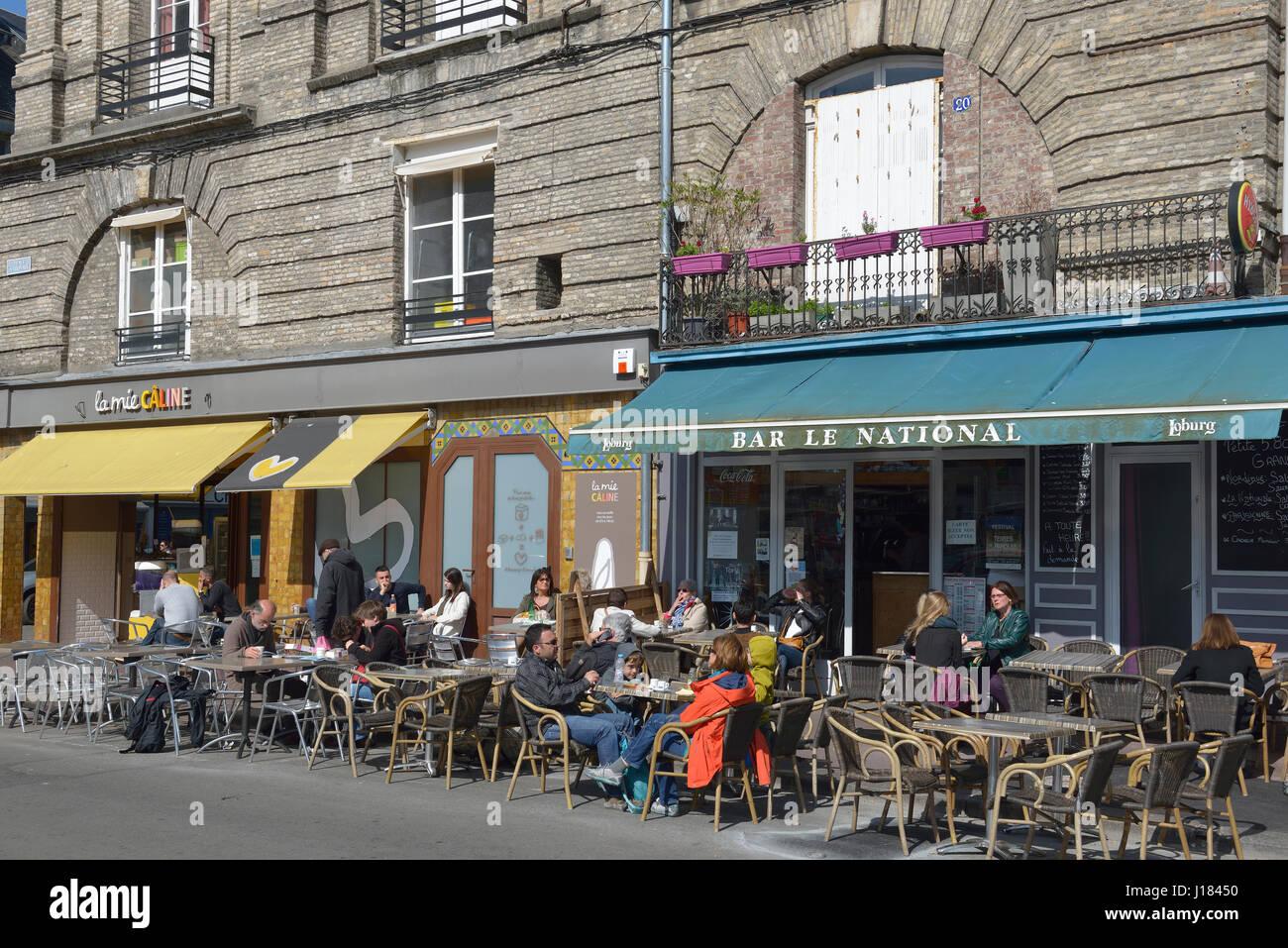 Dieppe, Seine-Maritime, Haute-Normandie., France - Stock Image