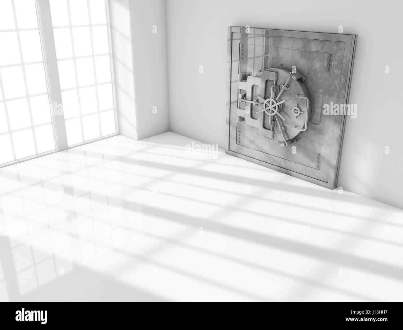 Safe room - Stock Image