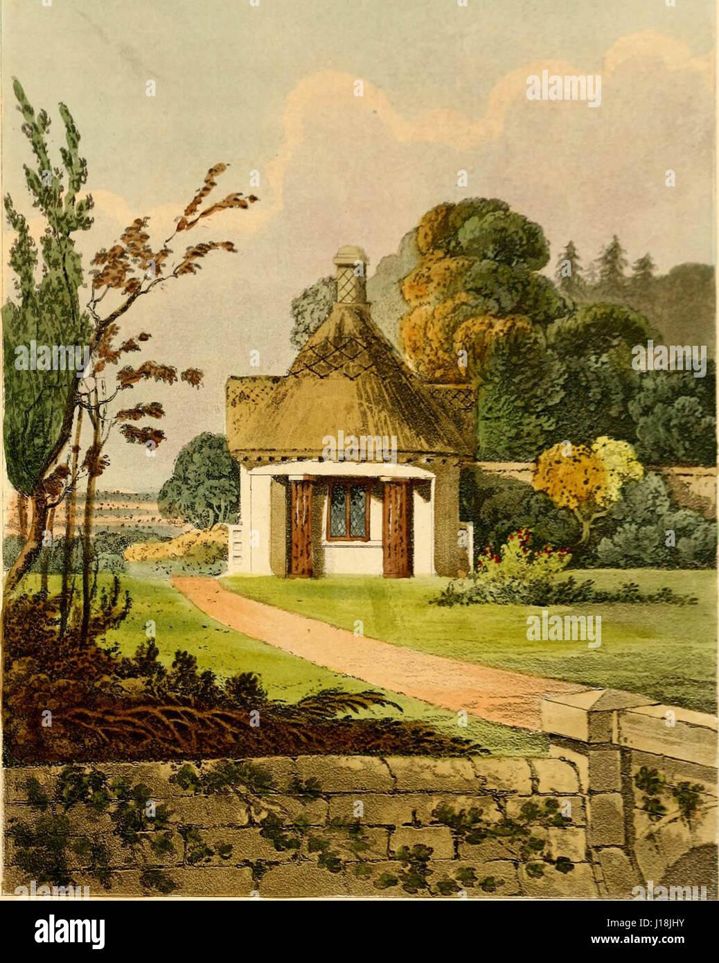 'Hints on ornamental gardening - Stock Image