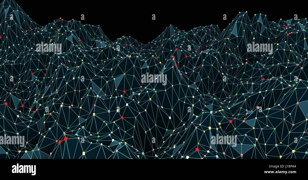 Abstract digital concept - Stock Image