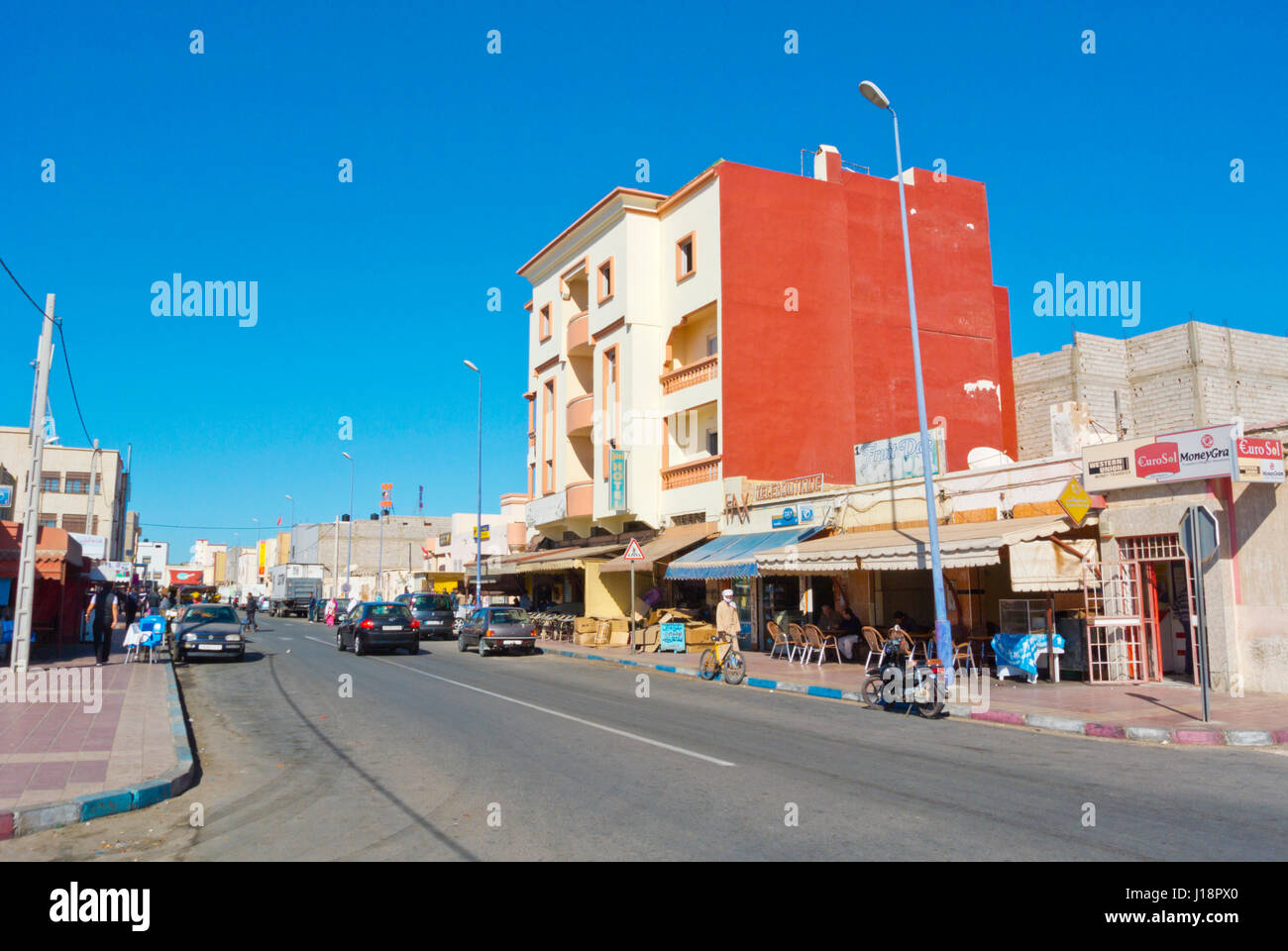 Dakhla, Western Sahara, administered by Morocco, Africa - Stock Image