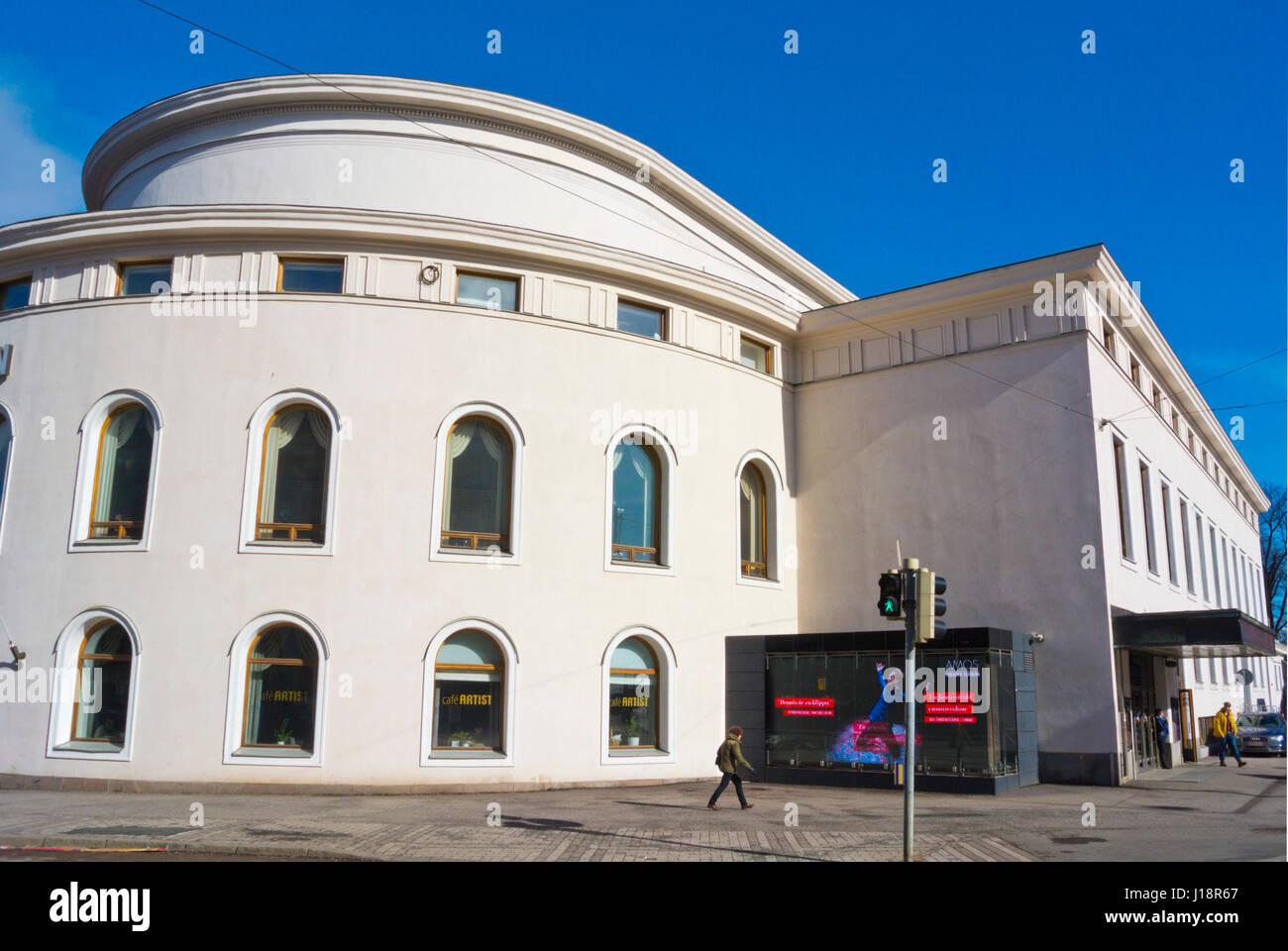 Svenska Teatern, Ruotsalainen Teatteri, Swedish Theatre, Helsinki, Finland - Stock Image