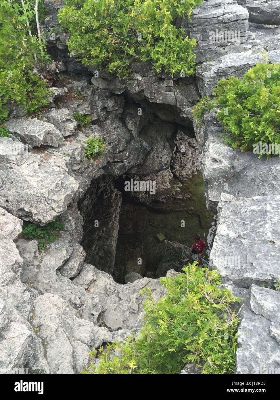The Grotto Ontario Stock Photos & The Grotto Ontario Stock