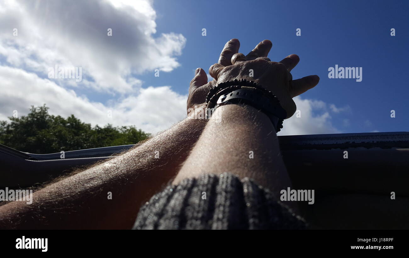 Falling in love all over again - Stock Image