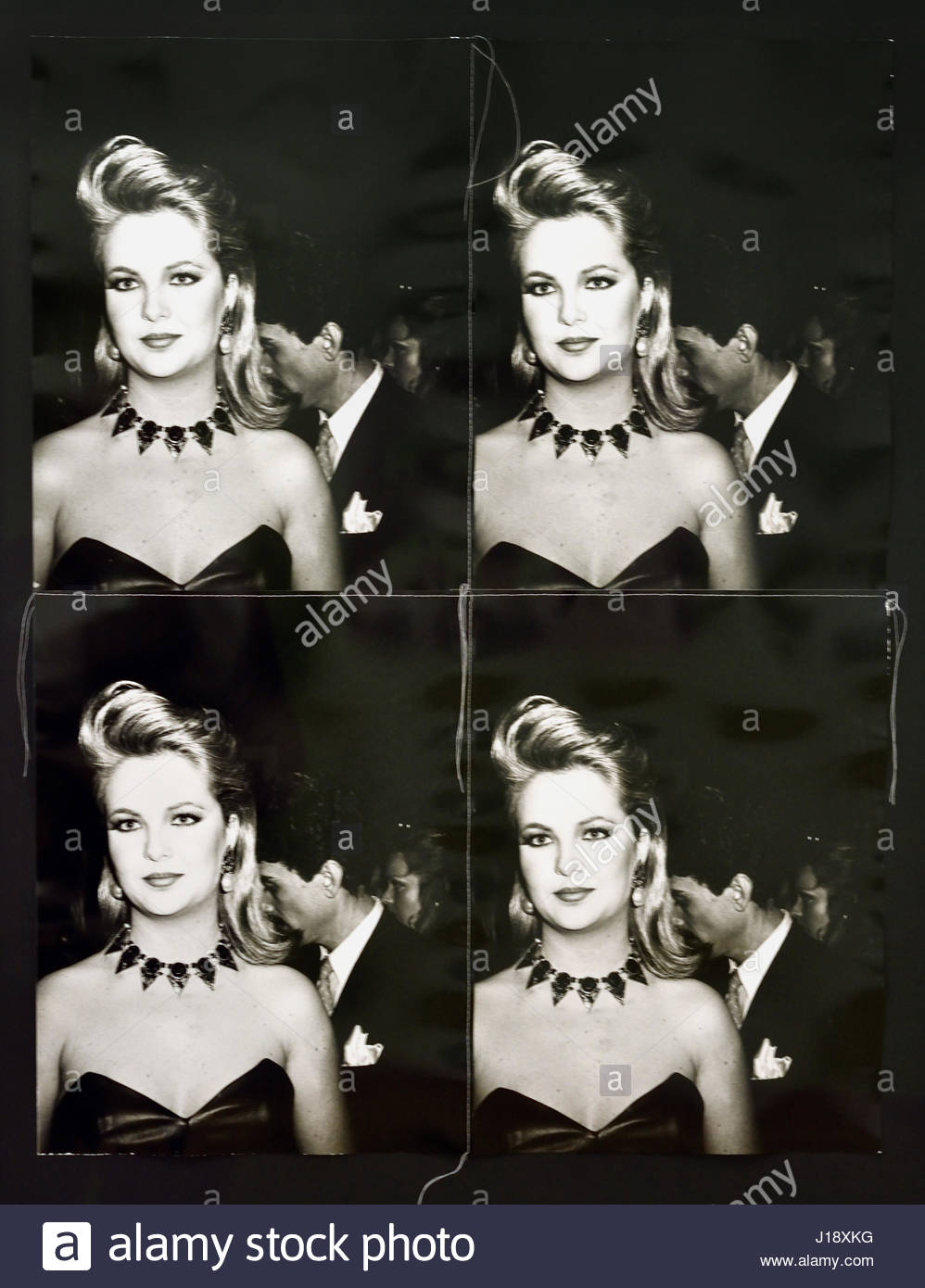 Cornelia Guest 1981 Andy Warhol 1928-1987 American United States of America USA - Stock Image