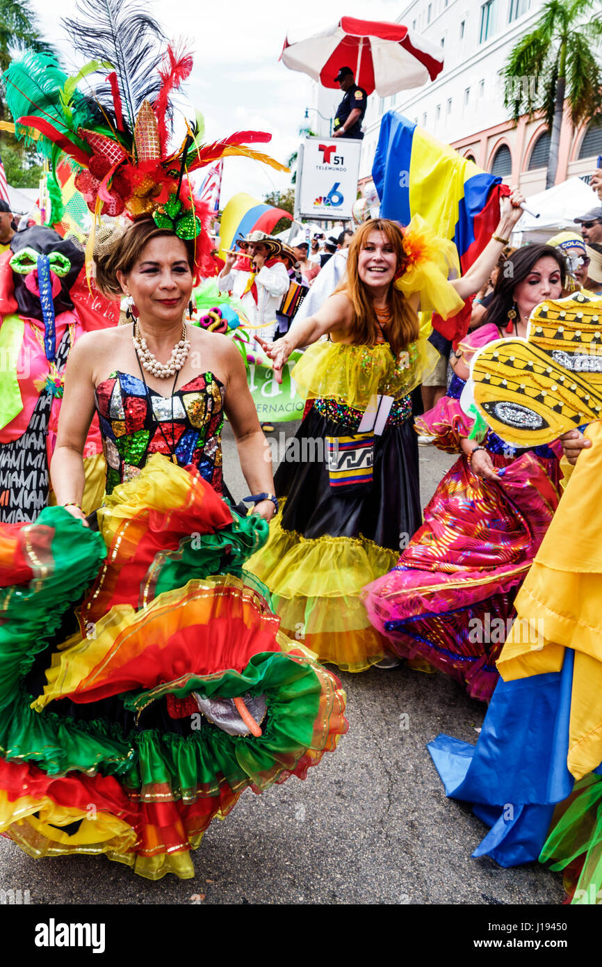 Miami Florida Little Havana Calle Ocho Carnaval Miami ...