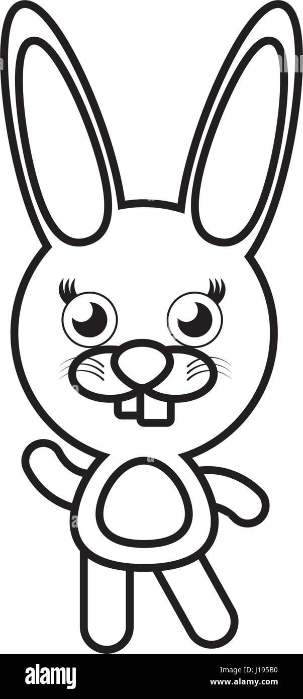 Cartoon Bunny Stock Vector Images - Alamy