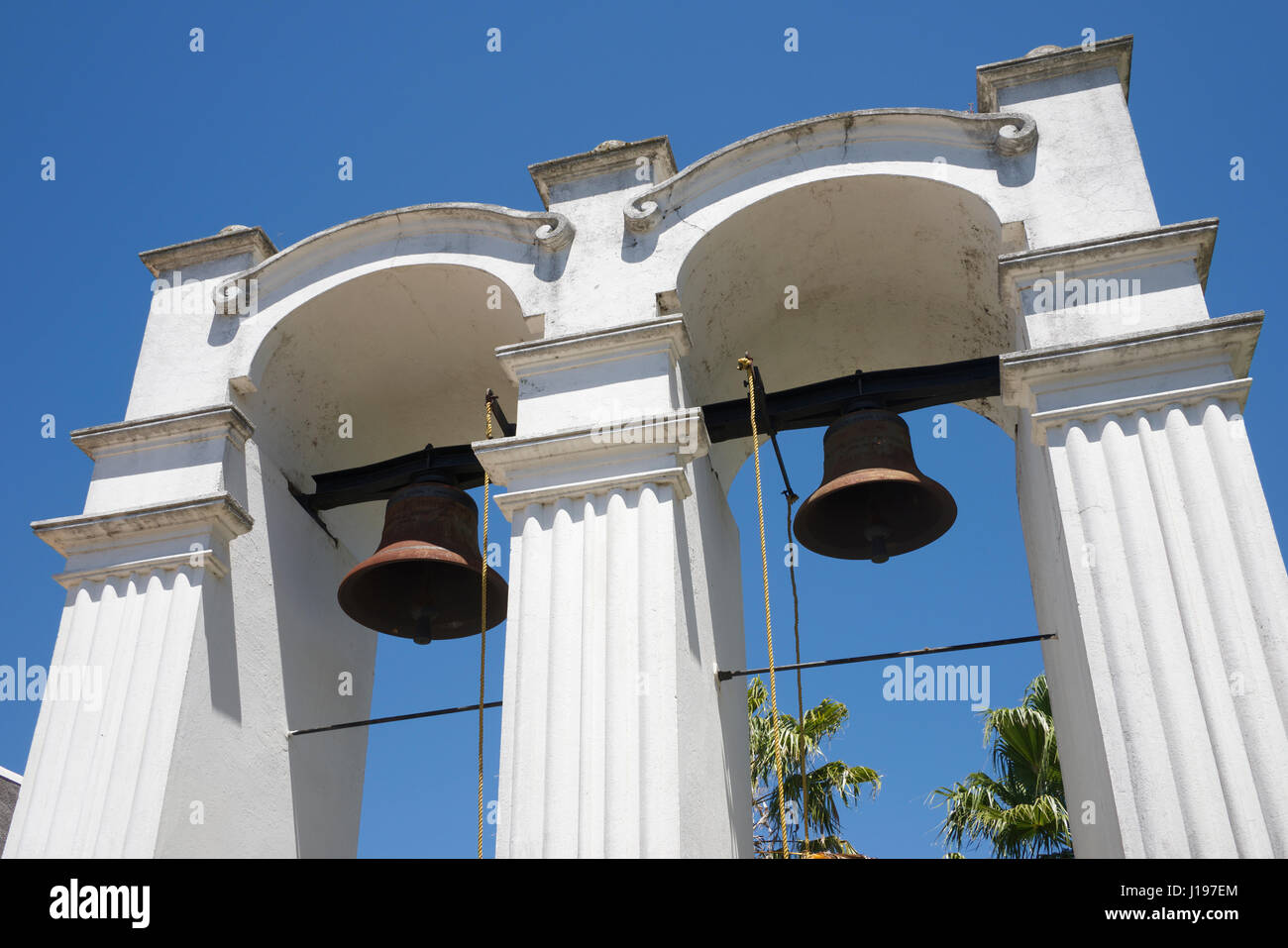 Bell tower Rhenish Church  Stellenbosch Western Cape South Africa - Stock Image
