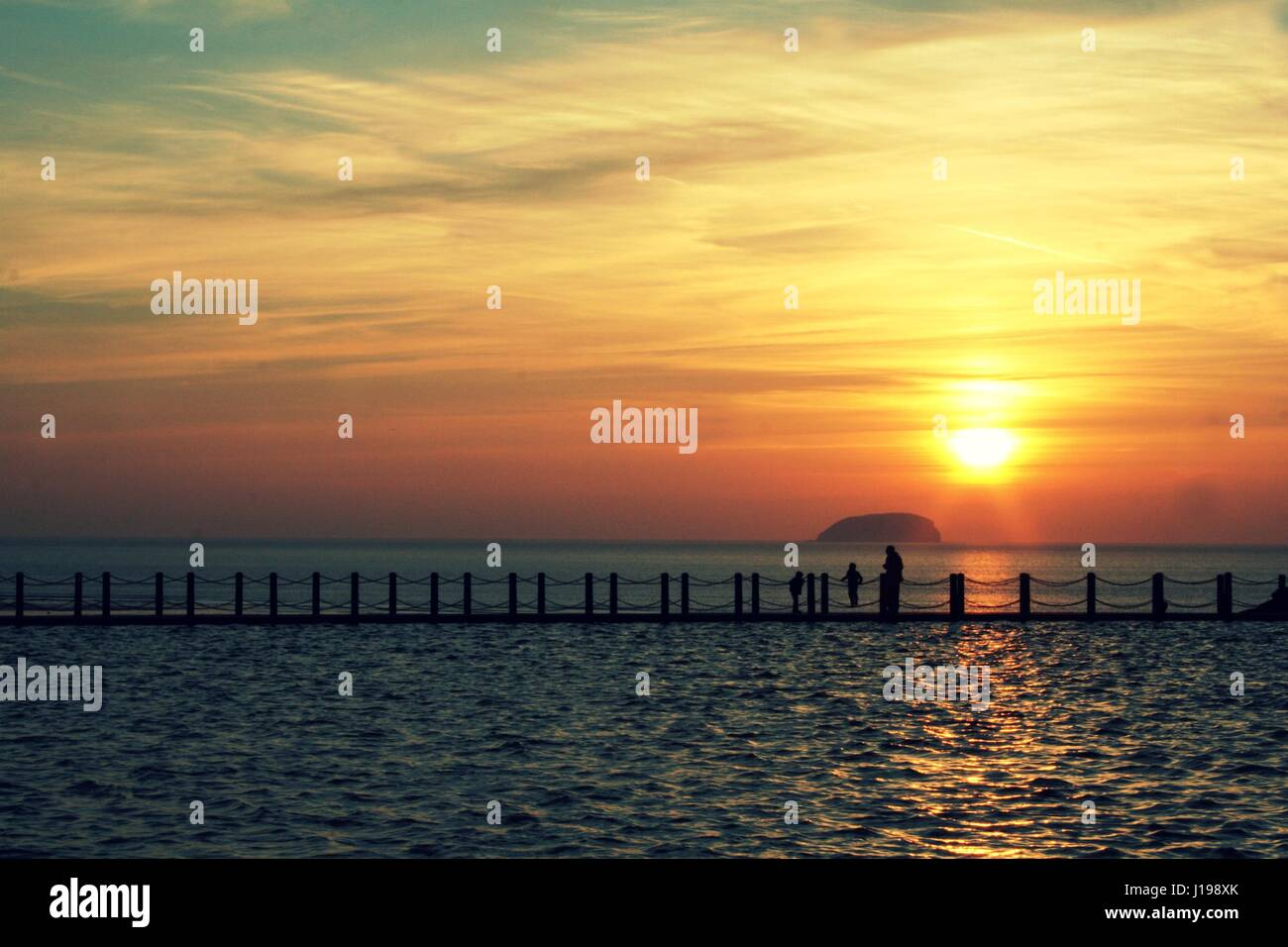 Sunset Sighting - Stock Image
