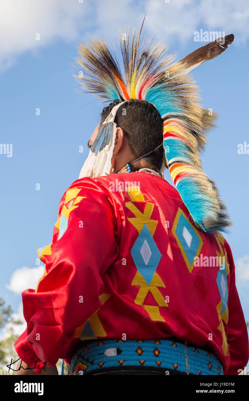 Native American - Stock Image