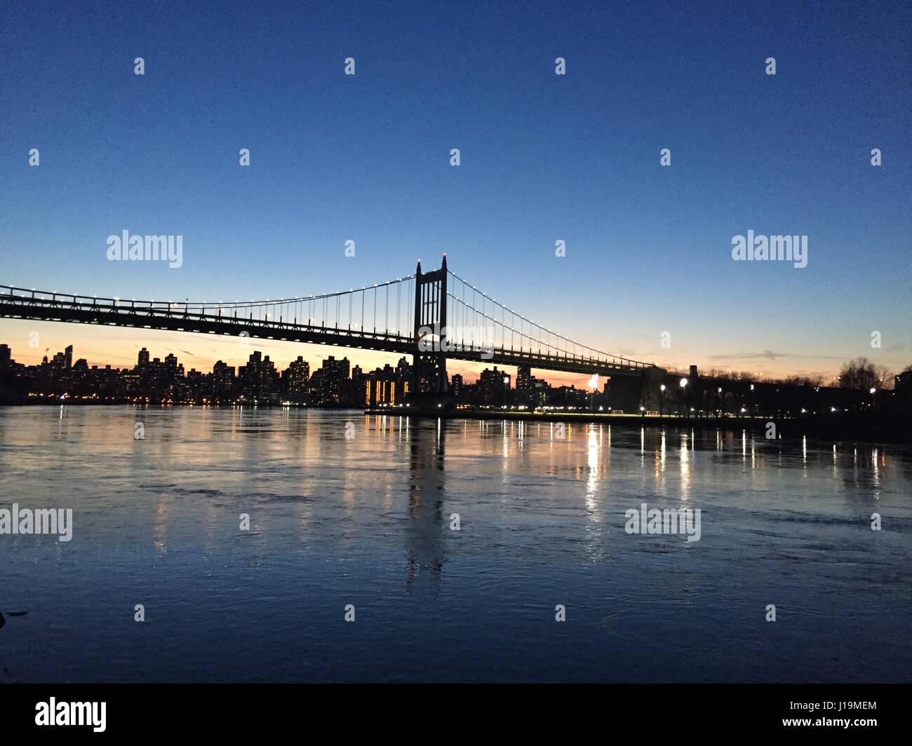 RFK Triborough Bridge - Stock Image