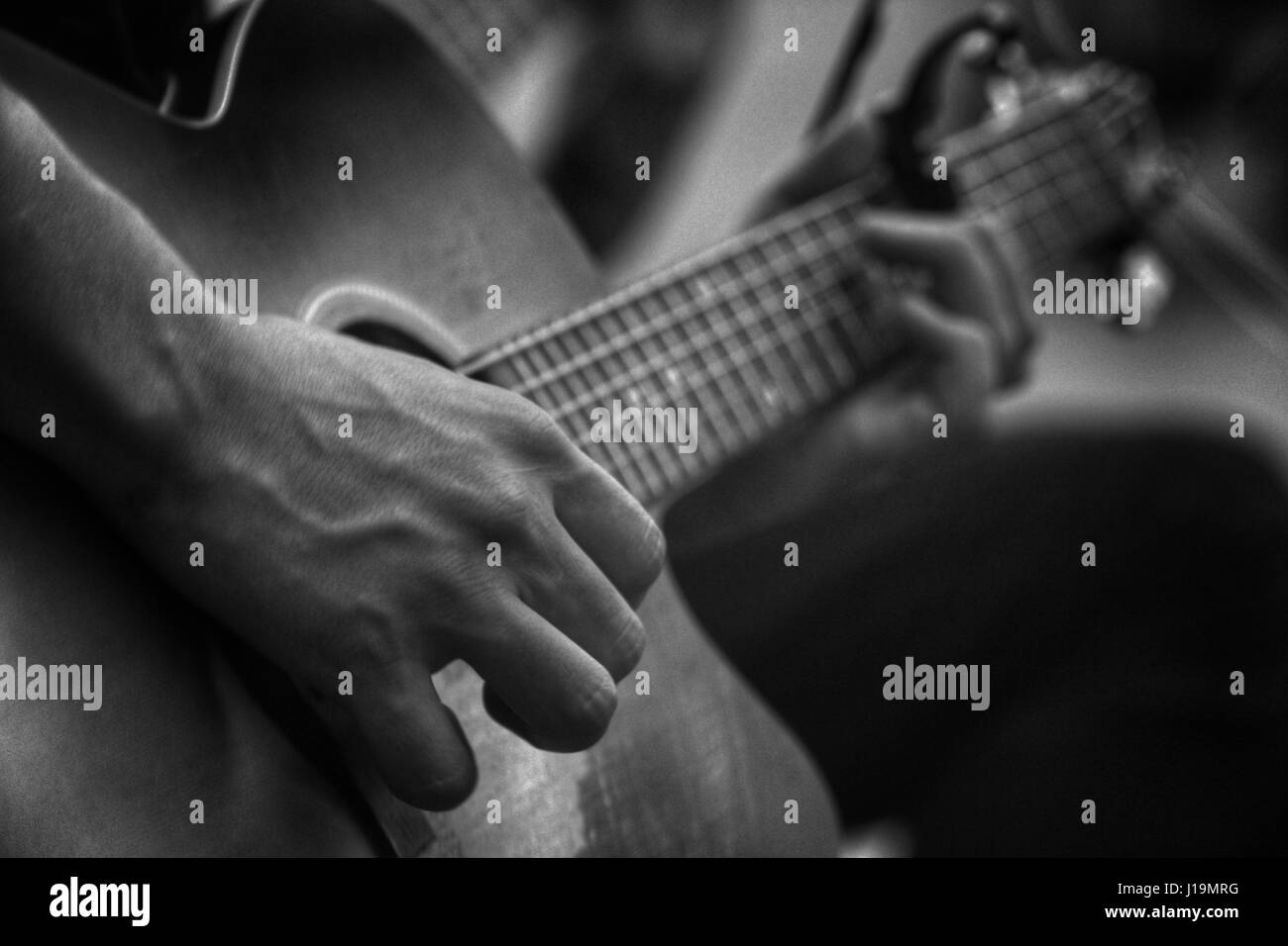 Play me a tune - Stock Image