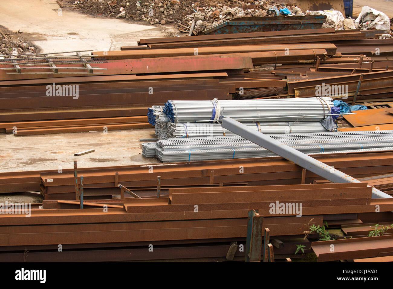 Scrap Metal Yard - Stock Image