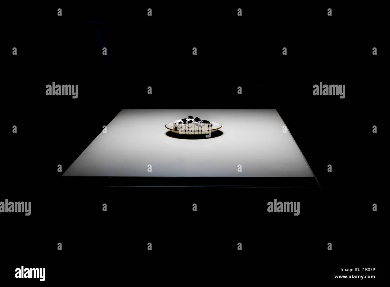 Oreooo Cheesecake - Stock Image