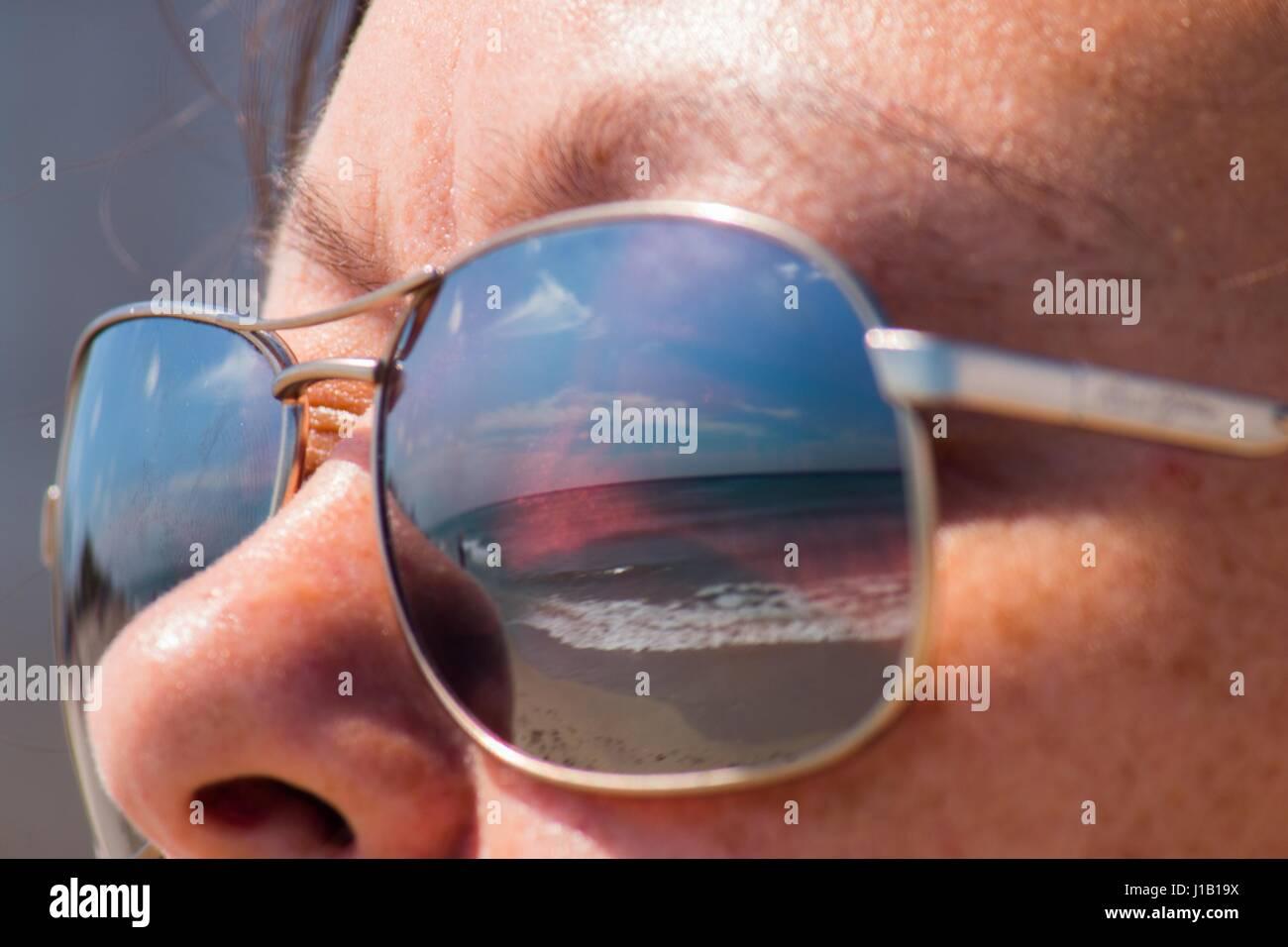 Sunglass beach - Stock Image