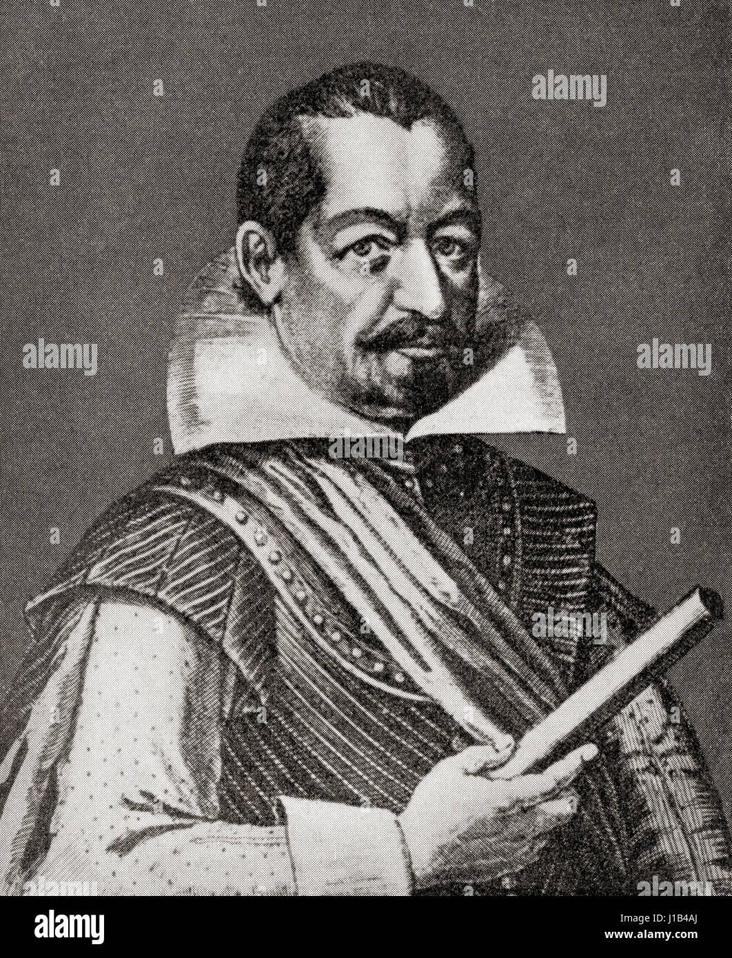 Albrecht Wenzel Eusebius von Wallenstein also von Waldstein, 1583 –  1634. Bohemian military leader and politician. - Stock Image