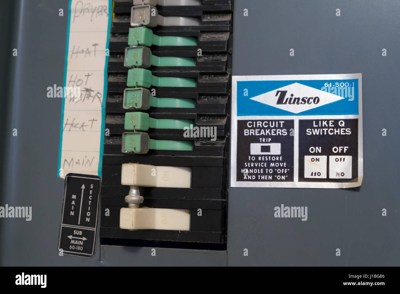 Dangerous Electrical Panel Stock Photos & Dangerous Electrical Panel ...
