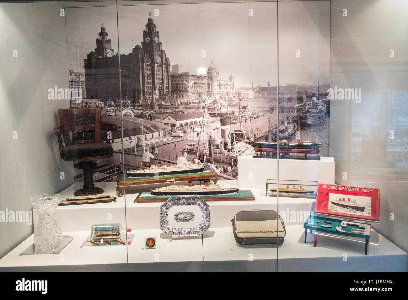 Merseyside,Maritime,Museum,Liverpool,Merseyside,England,UNESCO,World Heritage City,City,Northern,North,England,English,UK.,U.K.,Britain,GB, - Stock Image