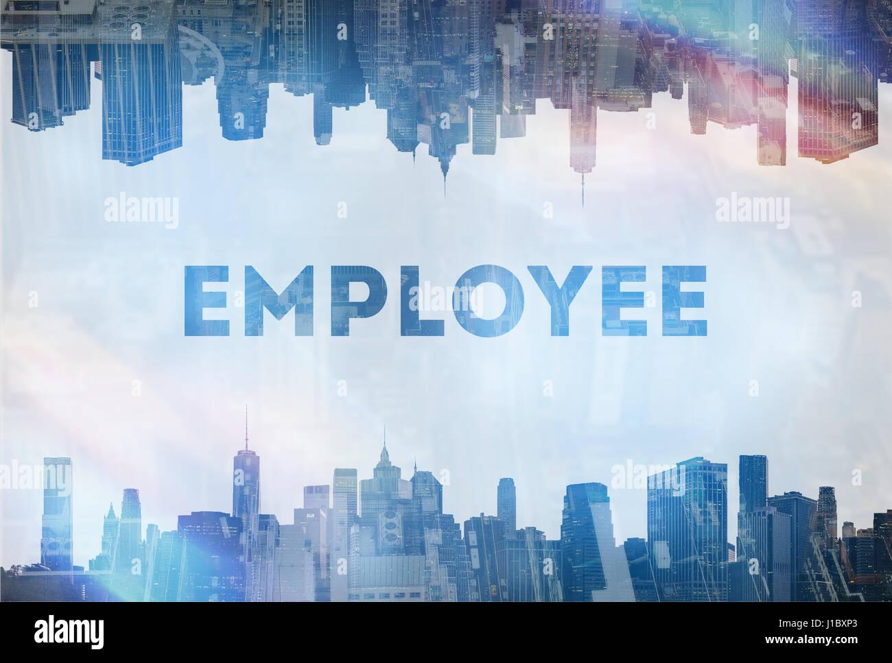 Employee motivation concept image - Stock Image
