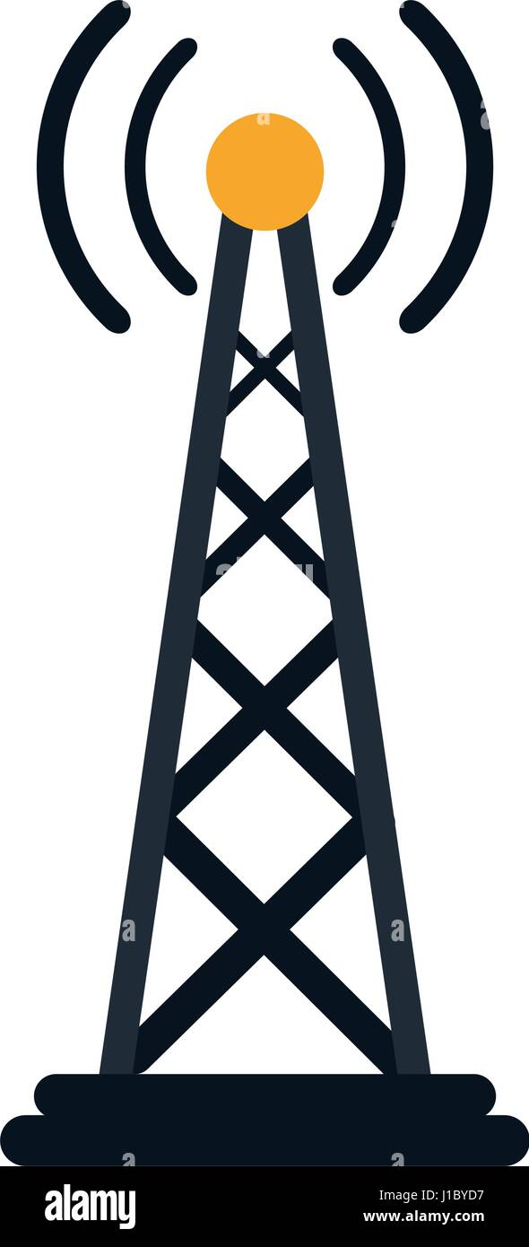 Variant radio antenna clip art