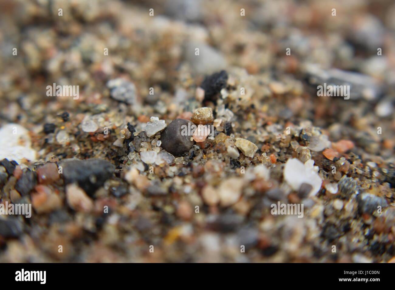 Grainy Sand - Stock Image