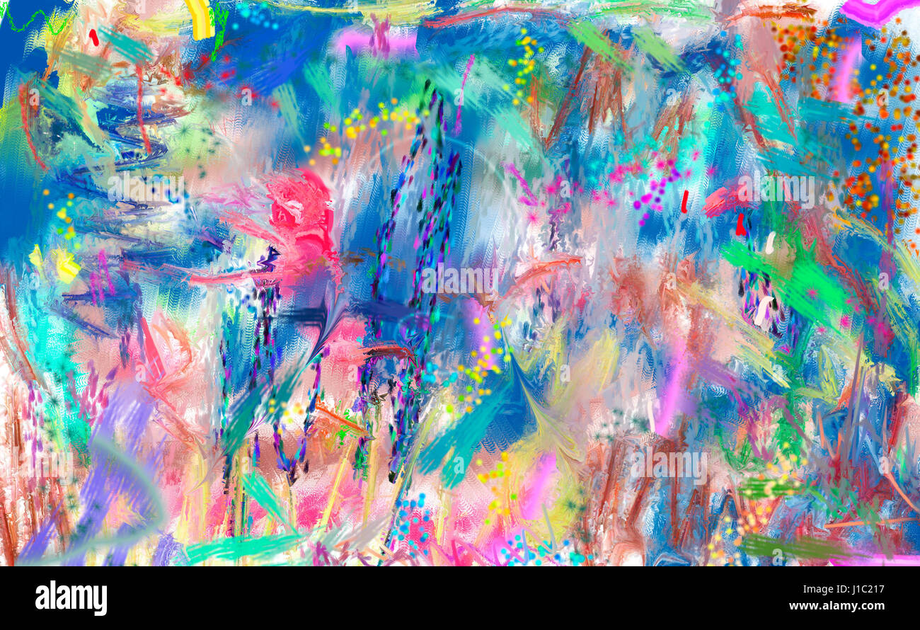 Abstract Art Painting Stock Photo 138562627 Alamy
