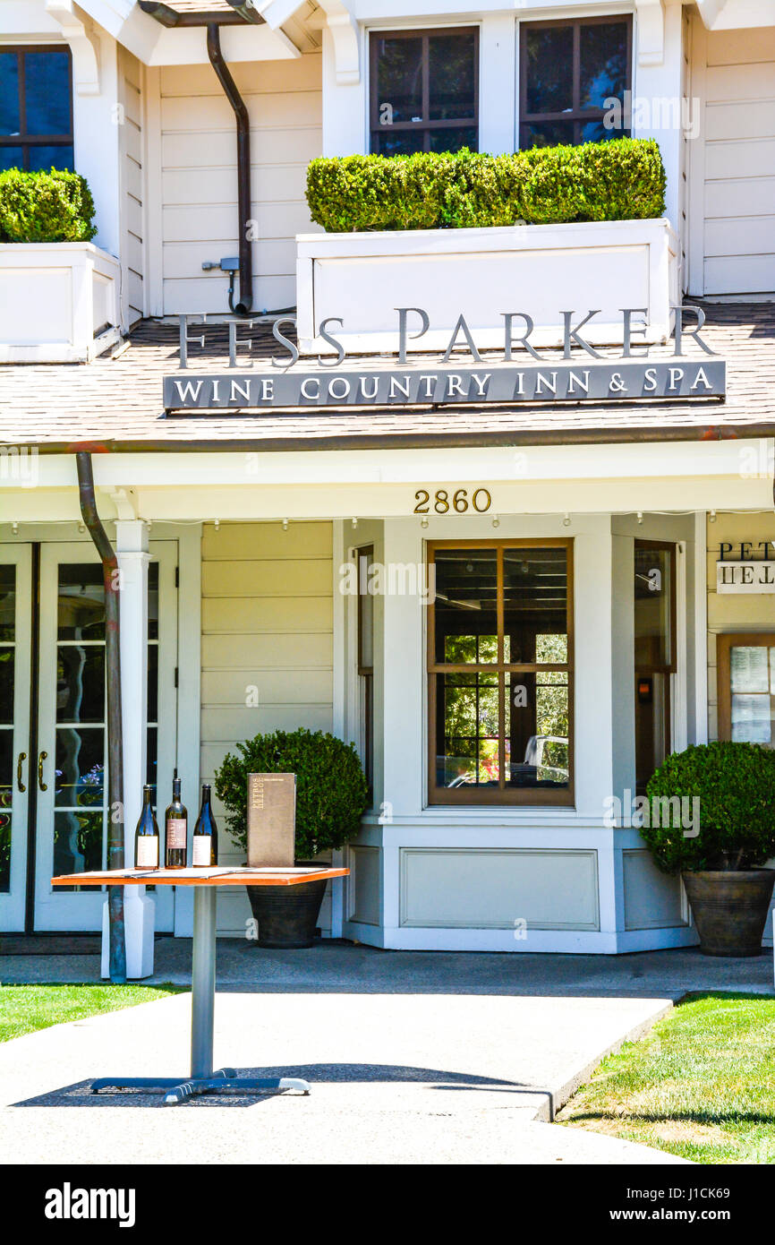 The Fess Parker Wine Country Inn Spa Is A Well Appointed Upscale