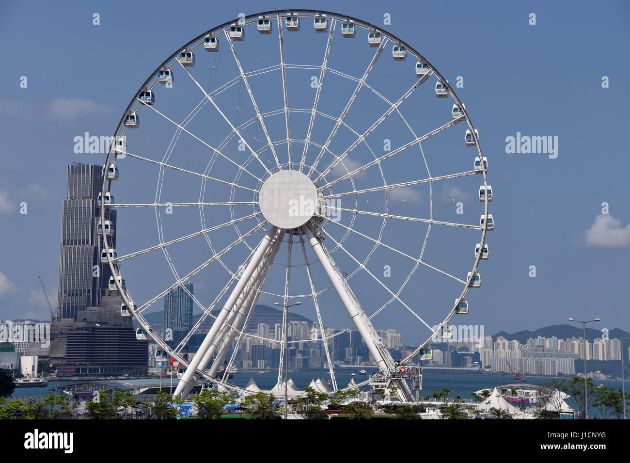 Ferris Wheel, Hong Kong - Stock Image