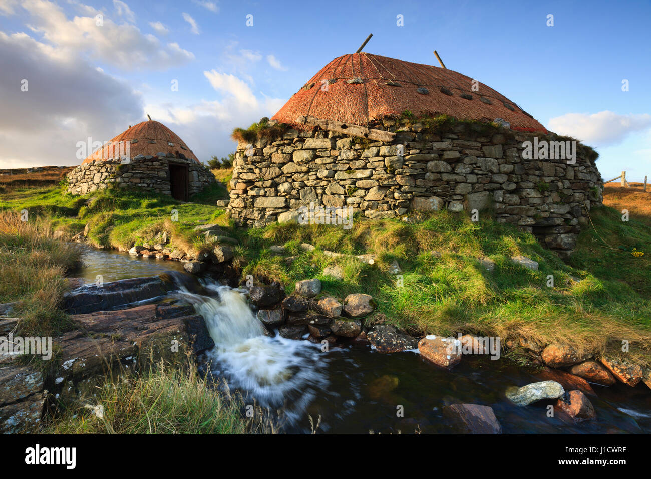 Norse Mill and Kiln on the  Isle of Lewis - Stock Image