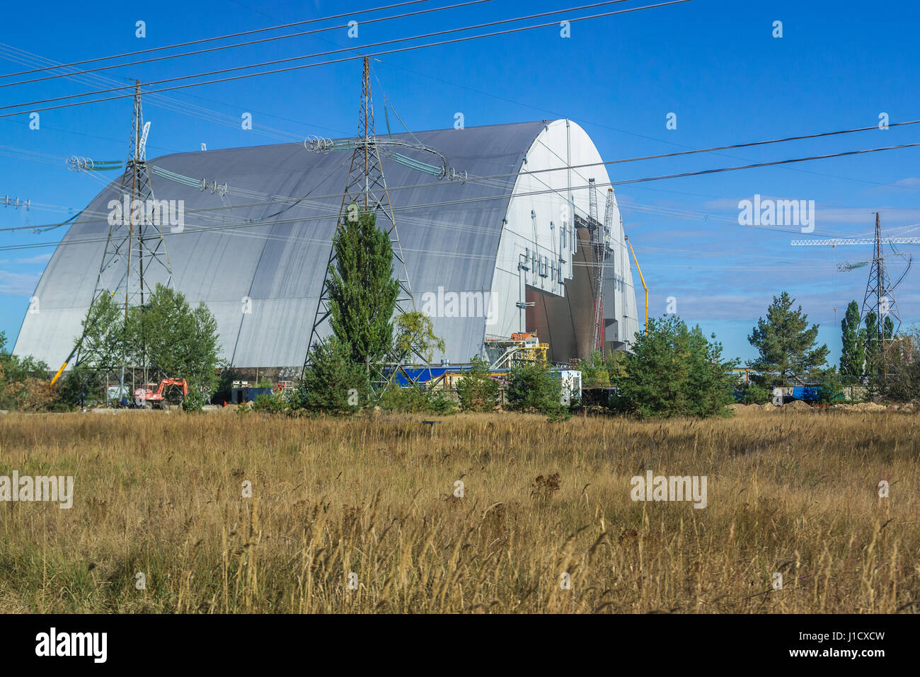 Chernobyl New Safe Confinement for No 4 unit of Chernobyl