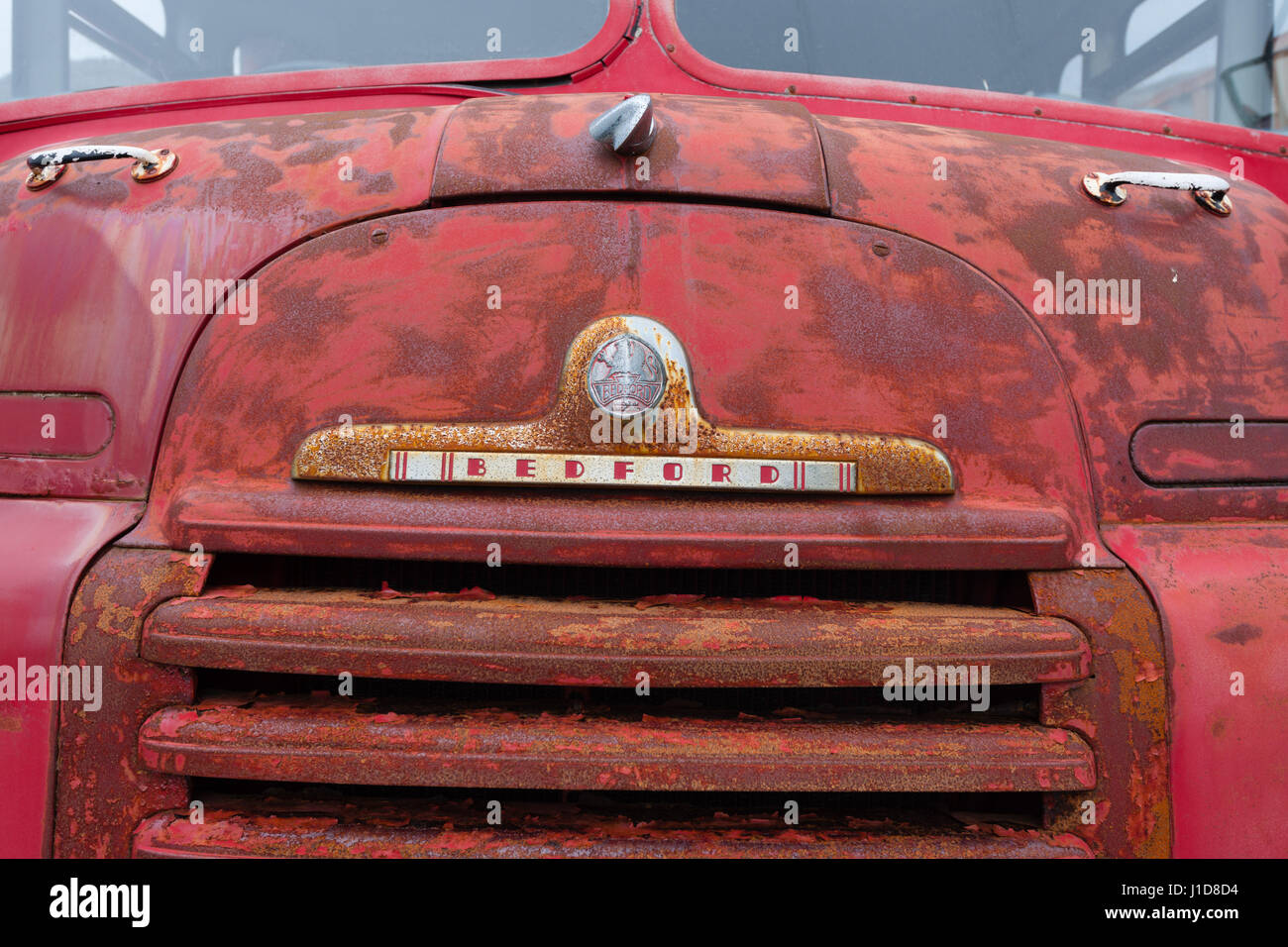 Beford vintage lorry, Iceland, Northern Europe - Stock Image