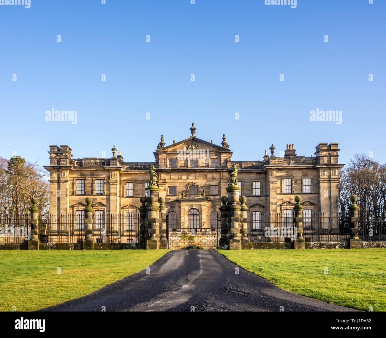 Duncombe Park, seat of the Duncombe family whose senior member takes the title Baron Feversham. Helmsley, UK. - Stock Image