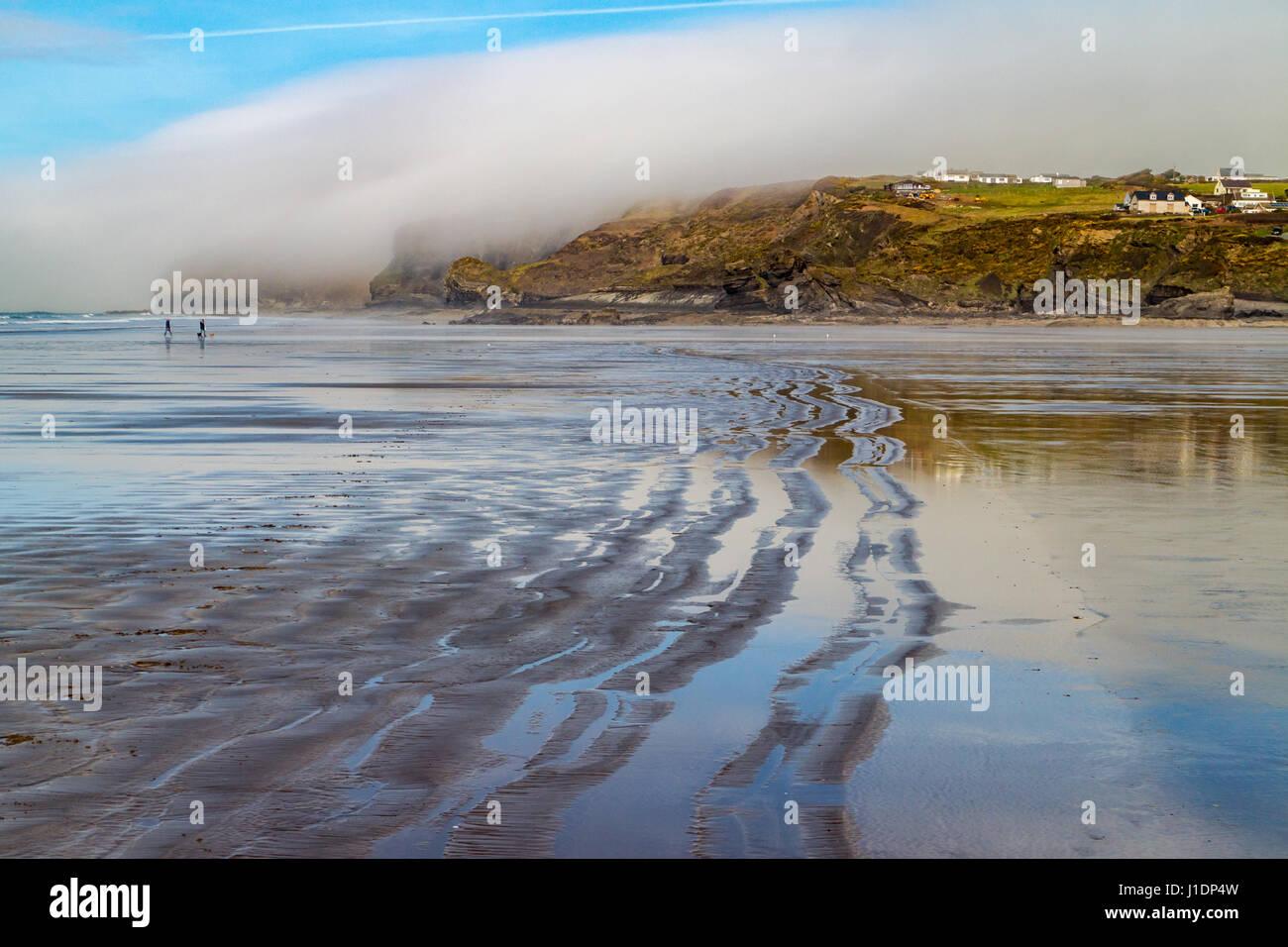 Broad Haven Beach, Pembrokeshire - Stock Image