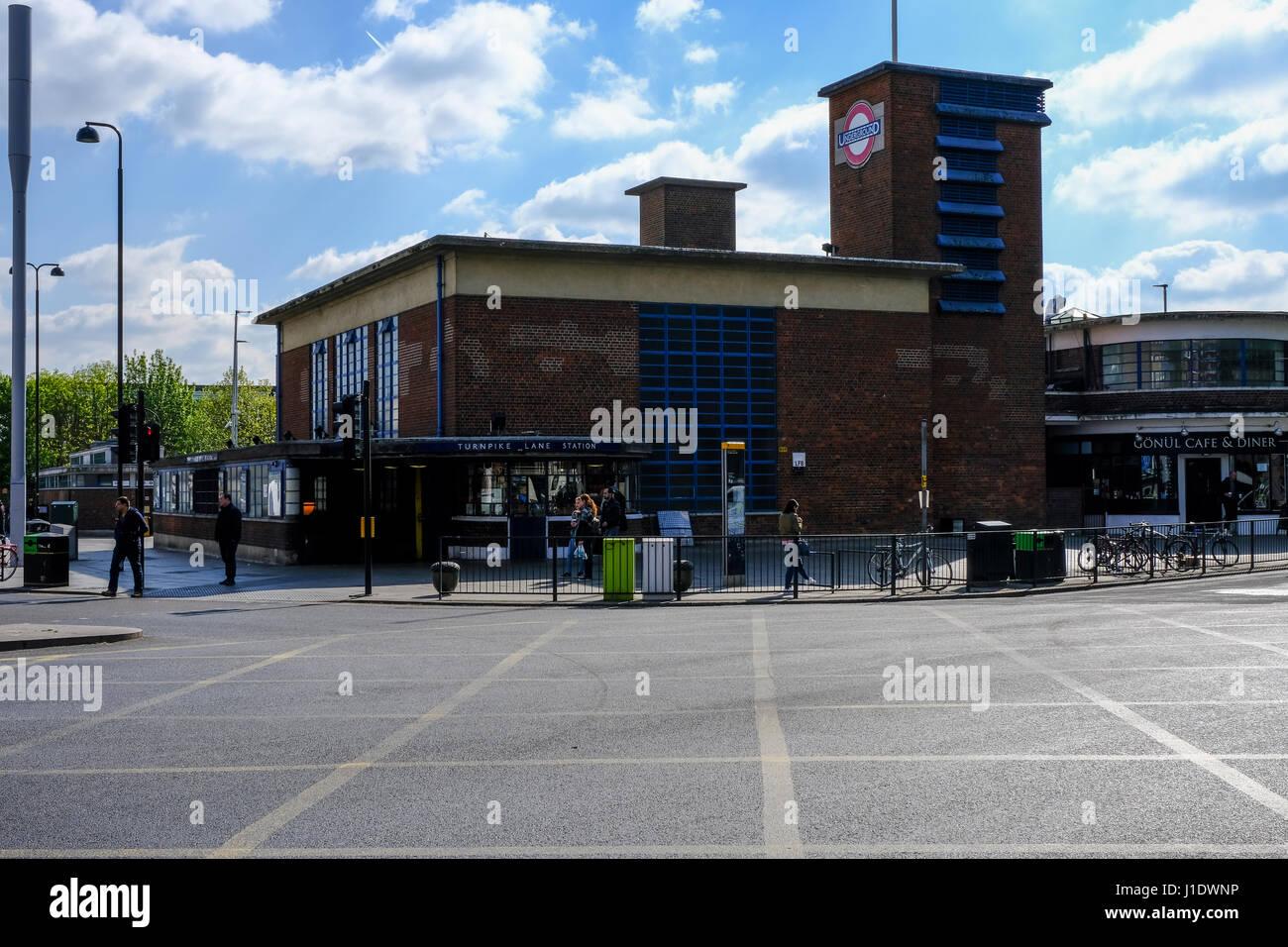 turnpike lane station stock photos turnpike lane station. Black Bedroom Furniture Sets. Home Design Ideas