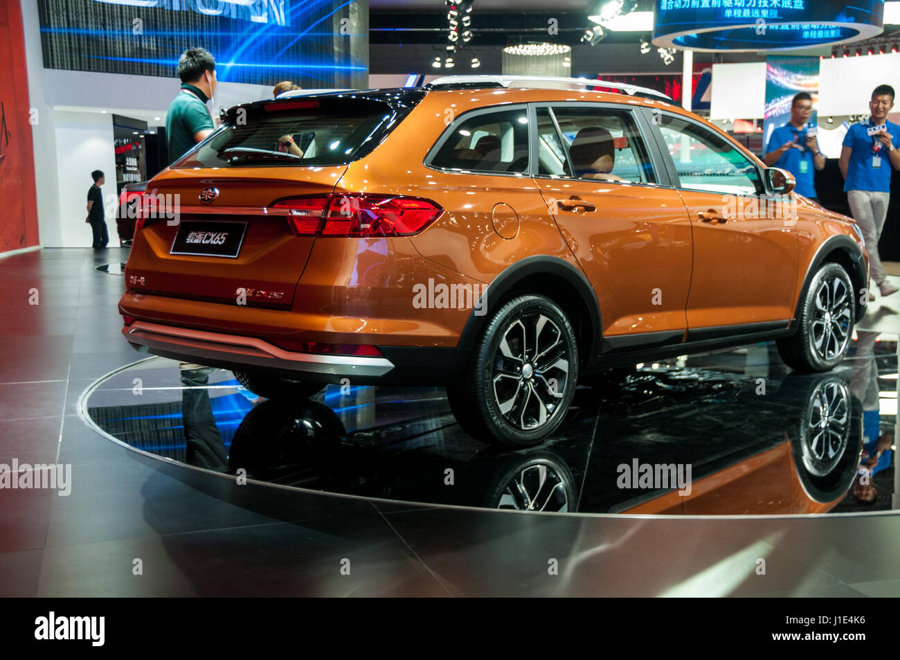 Faw china stock photos faw china stock images alamy - Shanghai auto show ...