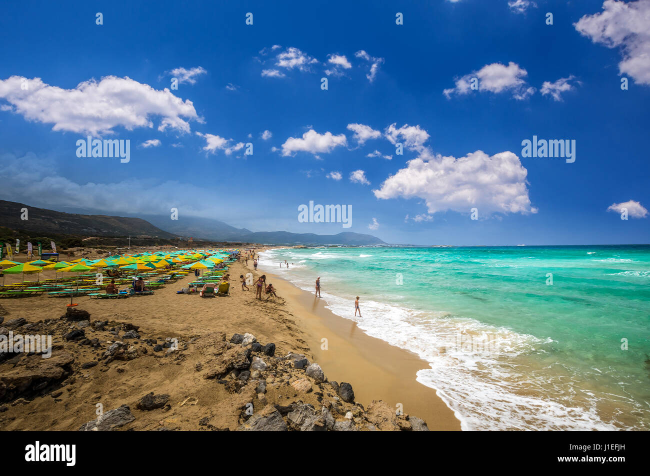Falasarna Beach Crete Island Greece Falassarna Is One Of