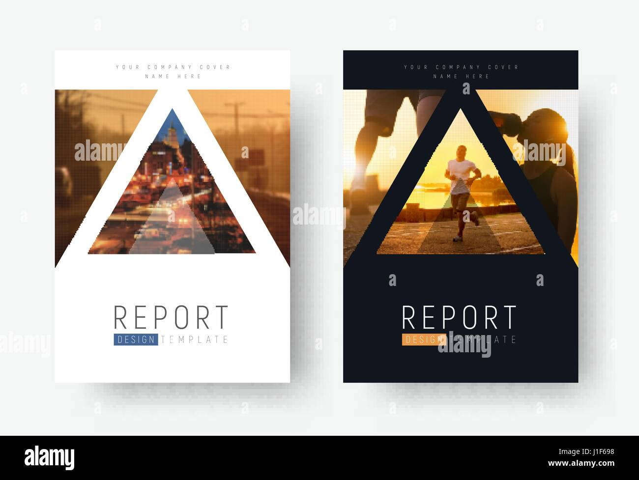 template of universal covers for business travel sports or food