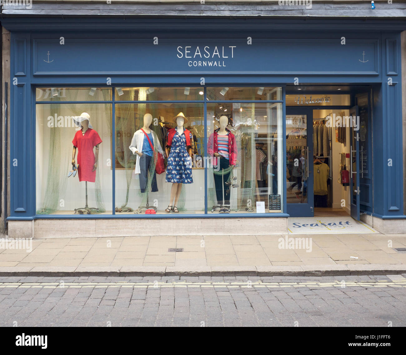 seasalt  cornwall shop in York city centre - Stock Image