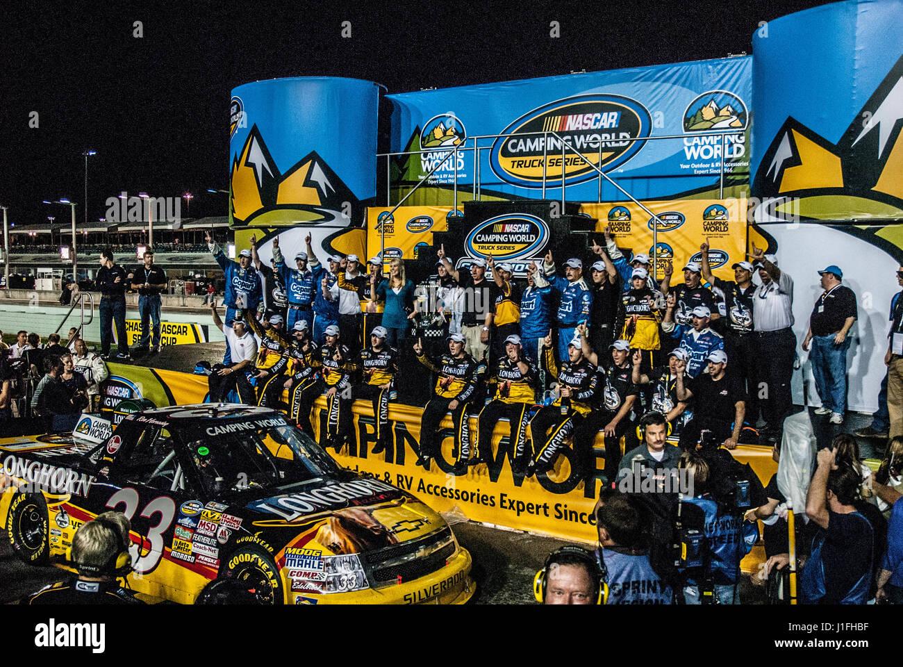 NASCAR racing motorsports - Stock Image