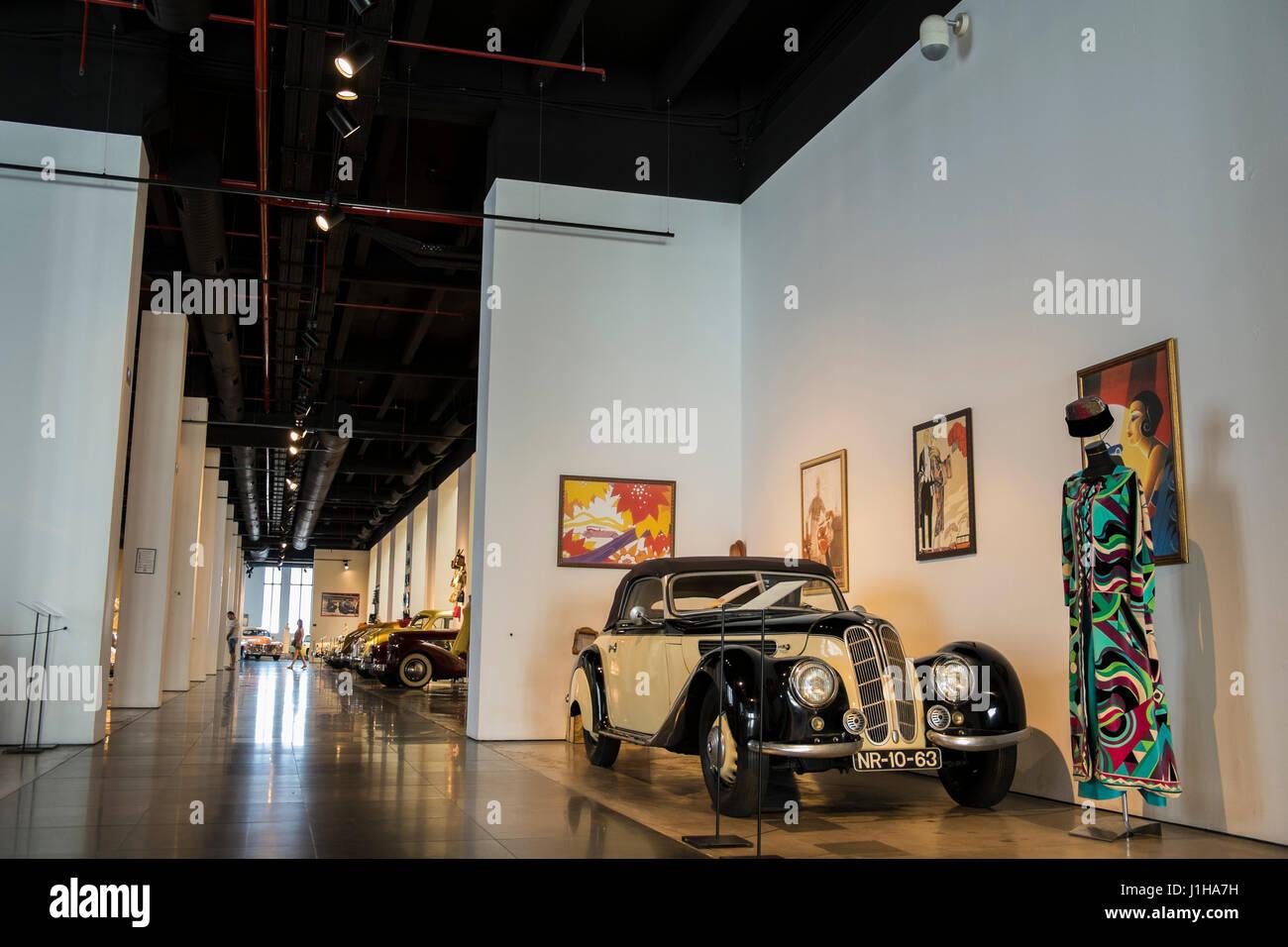 Automobile Museum of Málaga, Andalusia, Spain - Stock Image