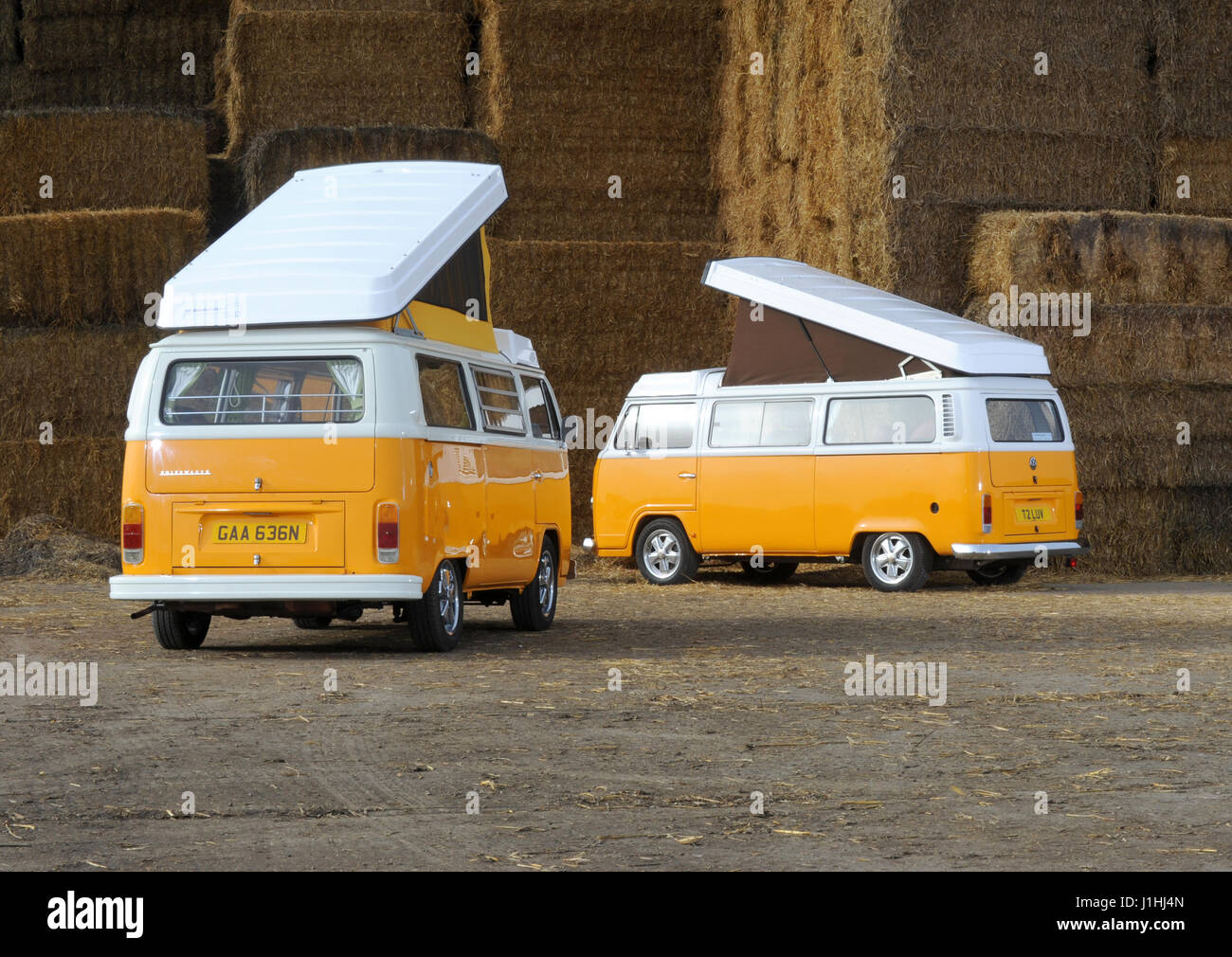 265c94fa87 New Brazilian built water cooled VW camper van with an original 1975 Bay  Window from Germany