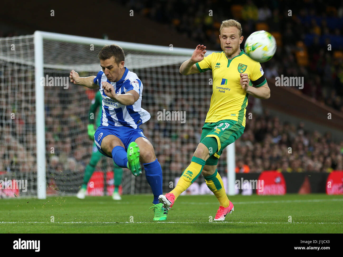Norwich Citys Alex Pritchard Left Stock Photos & Norwich