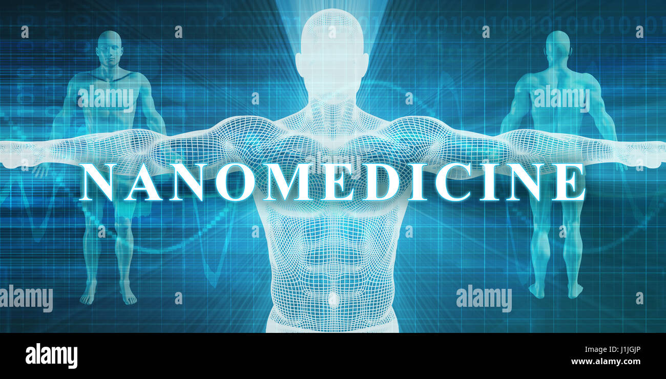 Nanomedicine as a Medical Specialty Field or Department - Stock Image