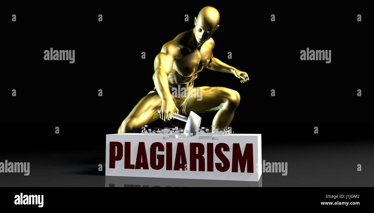 Eliminating Stopping or Reducing Plagiarism as a Concept - Stock Image