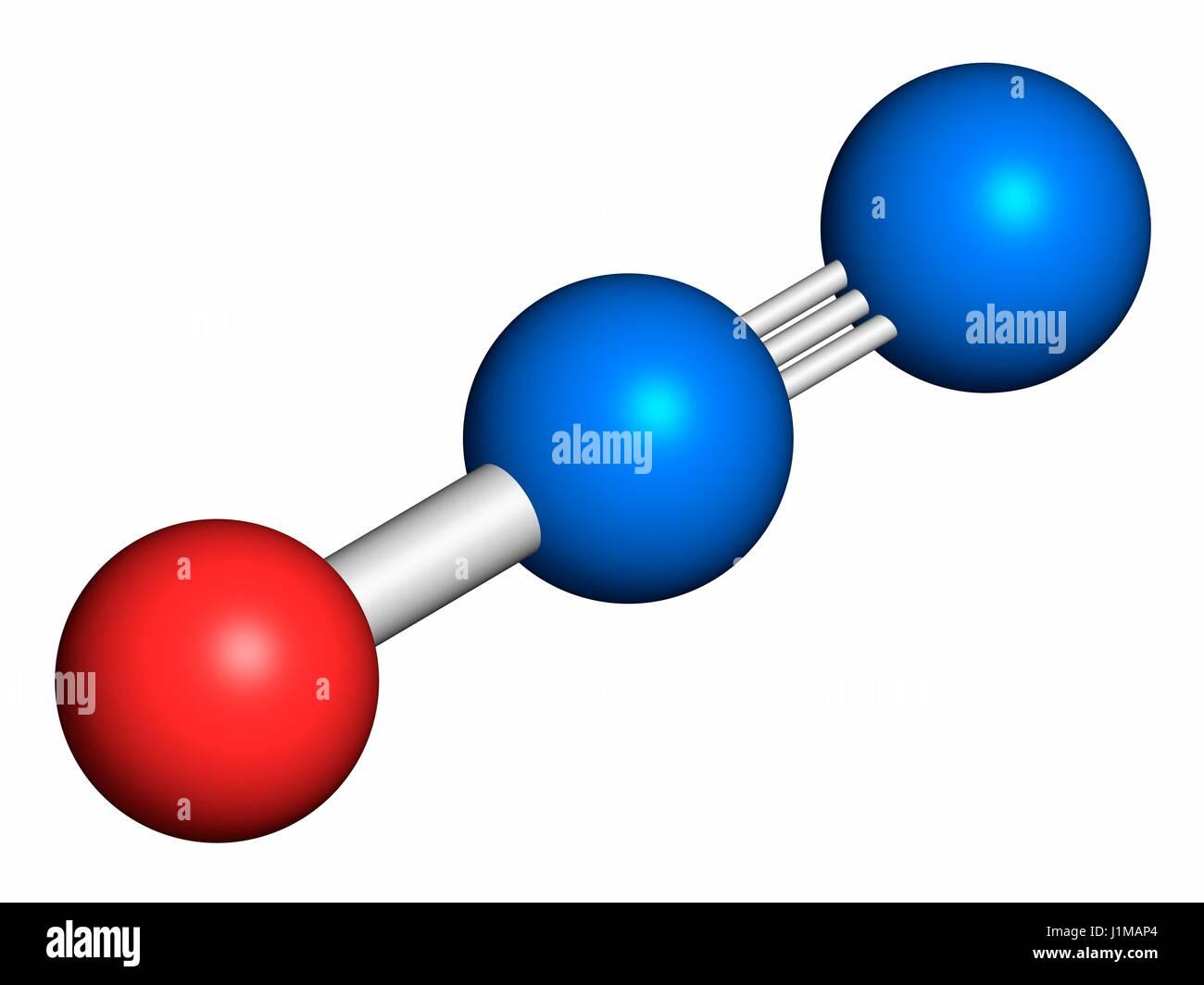 Nitrous Oxide Molecule Stock Photos  U0026 Nitrous Oxide