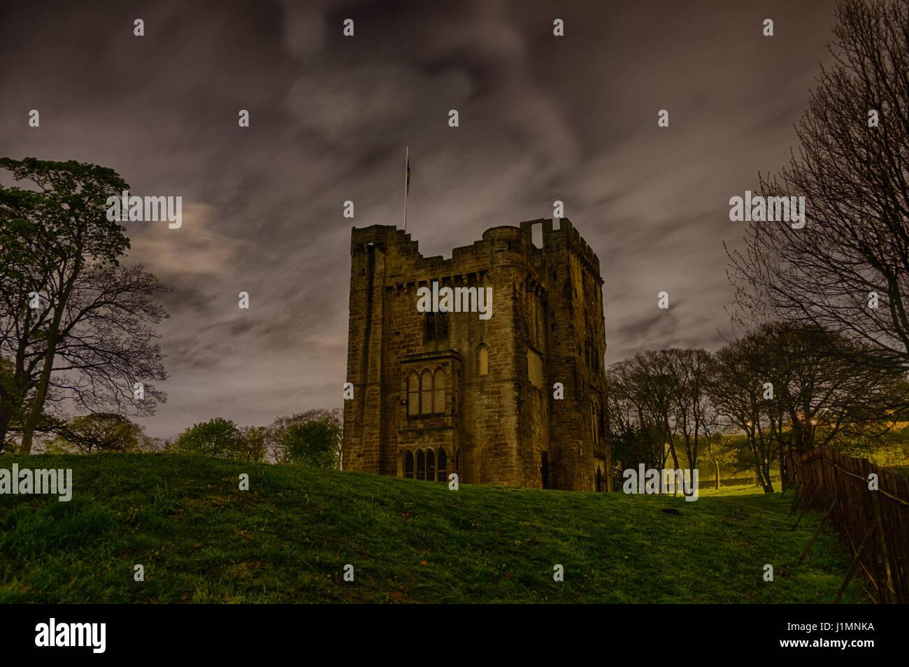 Hylton Castle, Sunderland, UK - Stock Image